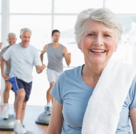 senior living fitness facility
