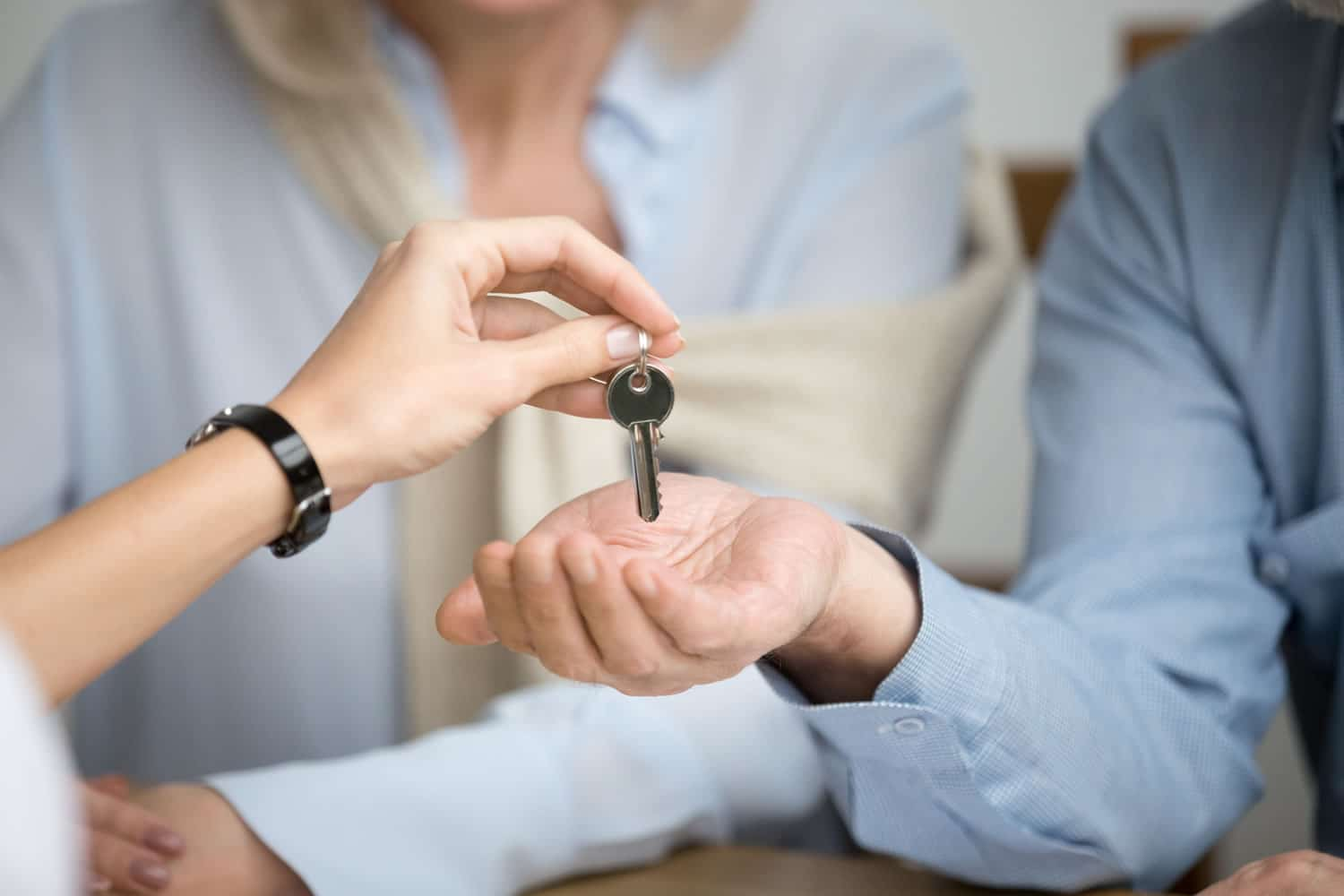 key to an affordable apartment