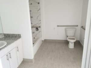 Affordable Senior Apartments For Rent Miami bathroom
